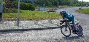 Peter Dixon riding the WLC 50m TT