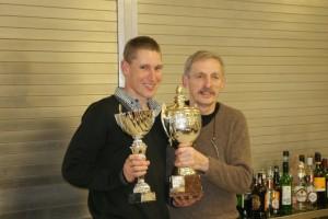 Peter Turnbull winning the AUK Individual Rider's Trophy
