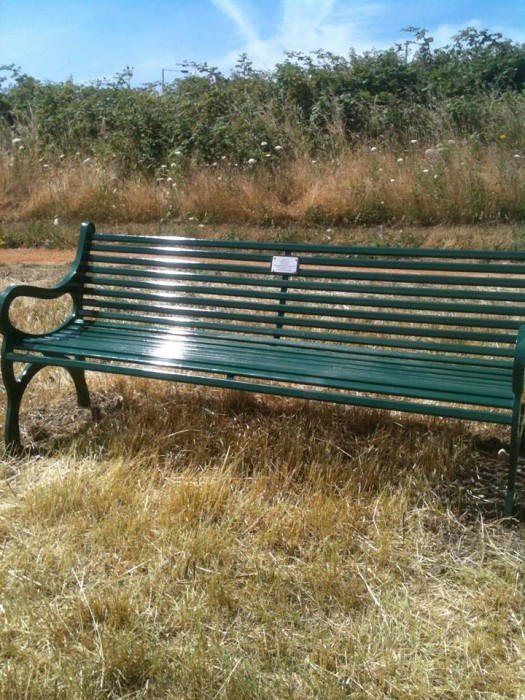Chas Messenger bench
