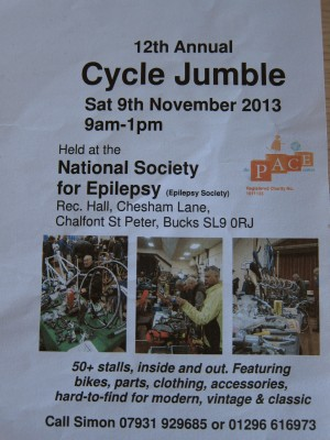 Cycle Jumble 9 Nov