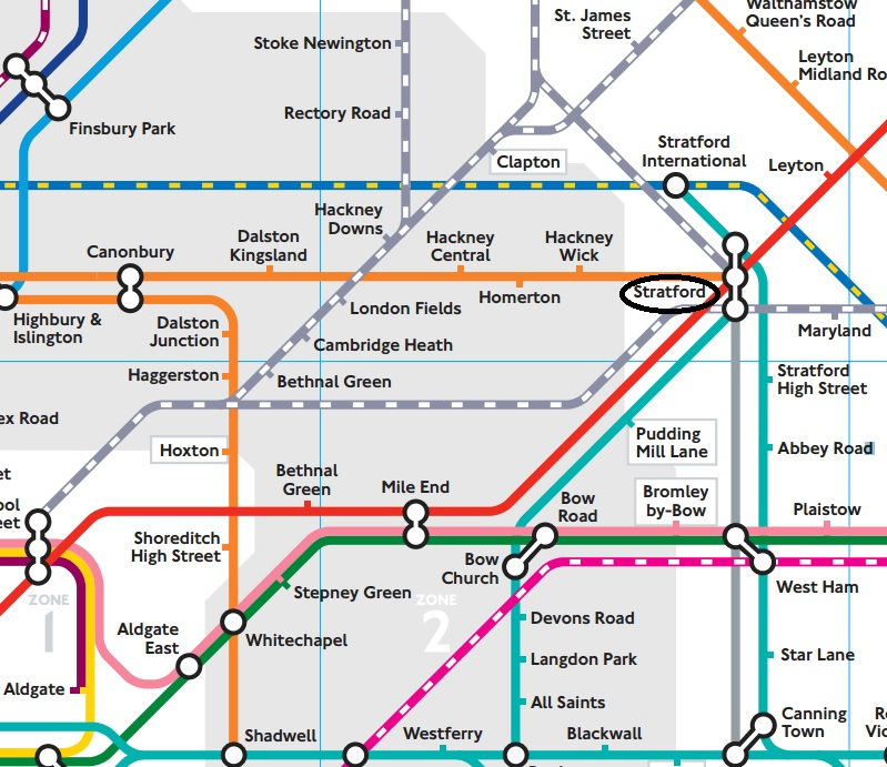 Photo London Tube Map Zones Images TfL Releases Walking