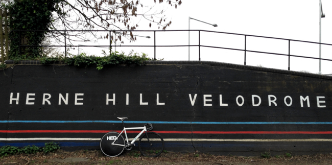 Herne Hill Velodrome Wall