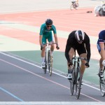 Tom Zittel finished 4th in Keirin Heat 2