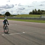 Jayne Paine Solos to victory at Thruxton