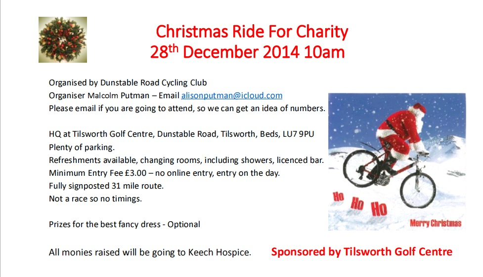 Dunstable RCC - Charity Ride