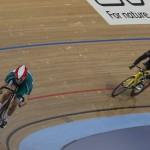 Track sprinting