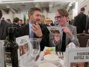 Stuart 'Hippy' Birnie and Chris Kelly