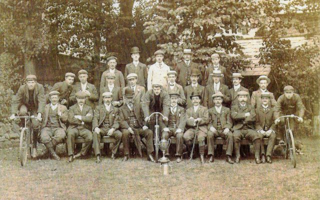 The first Willesden Cycling Club c.1900-1