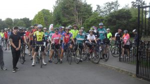 Start of the ride